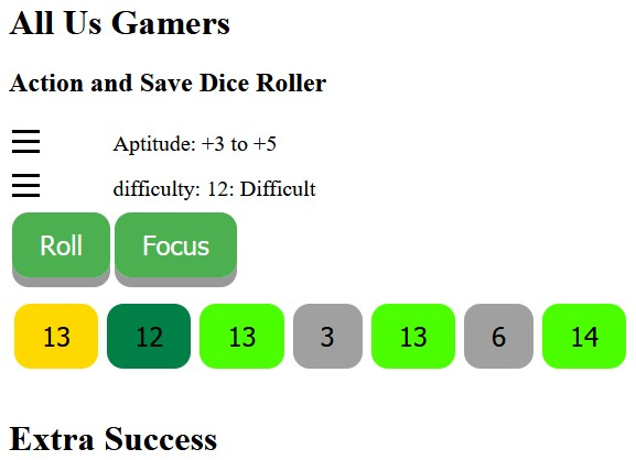 A Dice Roll Utility